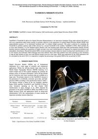 Tandem-x Mission Status : Volume Xl-7/W3... by Zink, M.