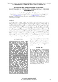 Estimating the Spatial Distribution of P... by Zhai, L.