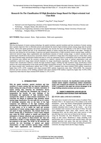 Research on the Classification of High R... by Li, C. K.
