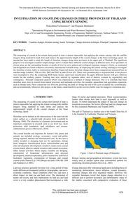 Investigation of Coastline Changes in Th... by Tochamnanvita, T.