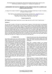 Assessment of Coastal Erosion Along Indi... by Rajawat, A. S.