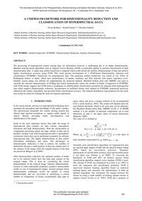 A Unified Framework for Dimensionality R... by Kolluru, P.