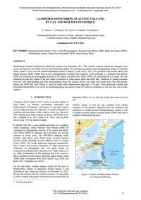 Landform Monitoring in Active Volcano by... by Nakano, T.