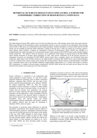 Retrieval of Surface Reflectance Using S... by Pandya, M. R.