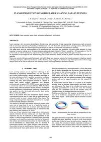 Planar Projection of Mobile Laser Scanni... by Gonçalves, J. A.