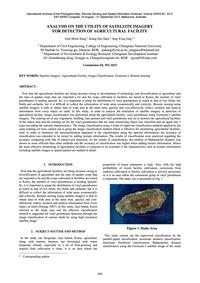 Analysis on the Utility of Satellite Ima... by Kang, J.-m.