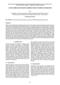 A New Approach of Digital Bridge Surface... by Ju, H.