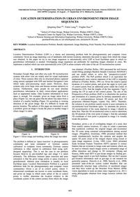 Location Determination in Urban Environm... by Zhan, Q.