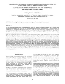 Automating Mapping Production for the En... by Uebbing, R.