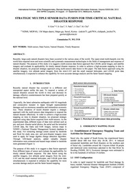 Strategic Multiple Sensor Data Fusion fo... by Kim, S.