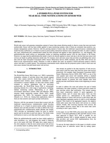 A Hybrid Pull-push System for Near Real-... by Huang, C. Y.