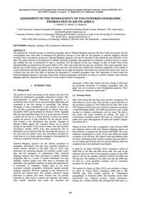 Assessment of the Homogeneity of Volunte... by Siebritz, L.