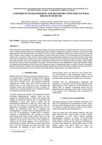 A Method of 3D Measurement and Reconstru... by Zheng, S.