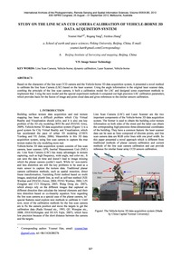 Study on the Line Scan Ccd Camera Calibr... by Han, Y.