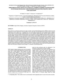 Implementation and Evaluation of a Mobil... by Shahbazi, M.