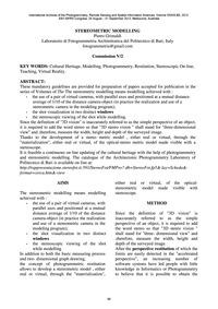 Stereometric Modelling : Volume Xxxix-b5... by Grimaldi, P.