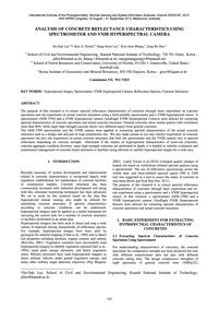 Analysis of Concrete Reflectance Charact... by Lee, J.-d.