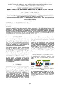 Forest Resource Management System by Sta... by Kamiya, T.