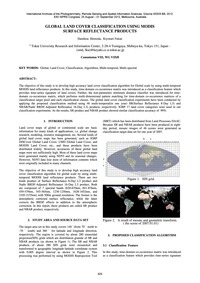 Global Land Cover Classification Using M... by Shimoda, H.