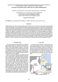 A Study on Extracting Thin Sea Ice Area ... by Cho, K.