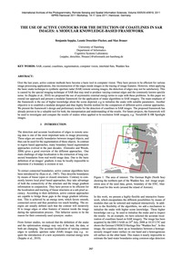 The Use of Active Contours for the Detec... by Seppke, B.