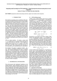 Integrating External Knowledge Into Svm ... by Braun, A. C.