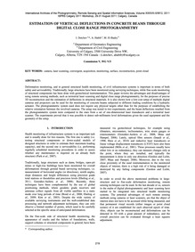 Estimation of Vertical Deflections in Co... by Detchev, I.