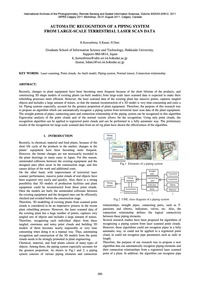 Automatic Recognition of Piping System f... by Kawashima, K.
