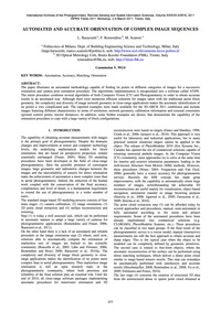 Automated and Accurate Orientation of Co... by Barazzetti, L.