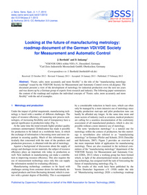 Looking at the Future of Manufacturing M... by Berthold, J.