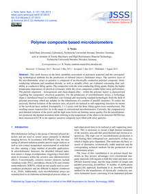 Polymer Composite Based Microbolometers ... by Nocke, A.