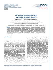 Early Forest Fire Detection Using Low-en... by Nörthemann, K.