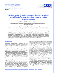 Devices Based on Series-connected Schott... by Nakagomi, S.