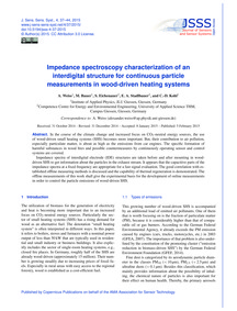 Impedance Spectroscopy Characterization ... by Weiss, A.