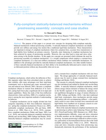 Fully-compliant Statically-balanced Mech... by Chen, G.