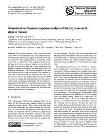 Numerical Earthquake Response Analysis o... by Feng, Z.
