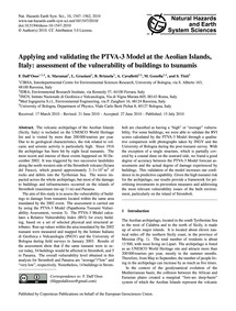 Applying and Validating the Ptva-3 Model... by Dall'Osso, F.