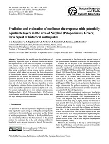 Prediction and Evaluation of Nonlinear S... by Karastathis, V. K.