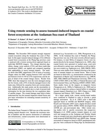 Using Remote Sensing to Assess Tsunami-i... by Roemer, H.