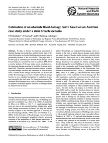 Estimation of an Absolute Flood Damage C... by Prettenthaler, F.