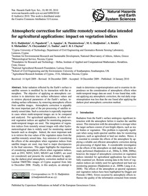 Atmospheric Correction for Satellite Rem... by Hadjimitsis, D. G.