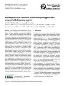Bedding Control on Landslides: a Methodo... by Grelle, G.