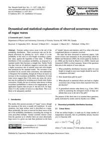 Dynamical and Statistical Explanations o... by Gemmrich, J.