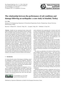 The Relationship Between the Performance... by İnce, G. Ç.