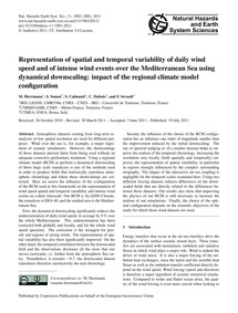 Representation of Spatial and Temporal V... by Herrmann, M.