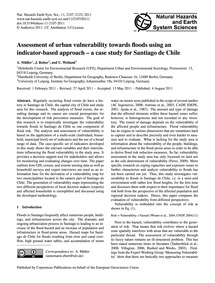 Assessment of Urban Vulnerability Toward... by Müller, A.