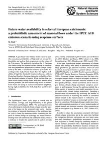 Future Water Availability in Selected Eu... by Weiß, M.
