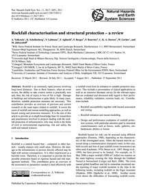 Rockfall Characterisation and Structural... by Volkwein, A.