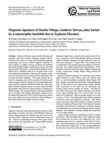 Magnetic Signature of Siaolin Village, S... by Doo, W.-b.