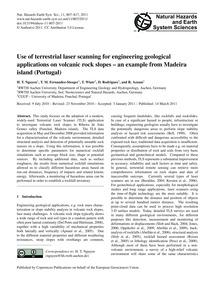 Use of Terrestrial Laser Scanning for En... by Nguyen, H. T.